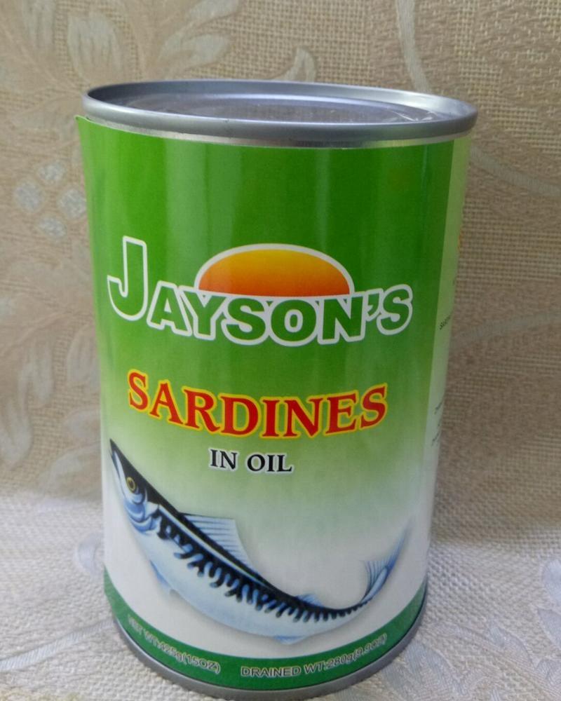 Консервированные тунец и сардины, скумбрия
