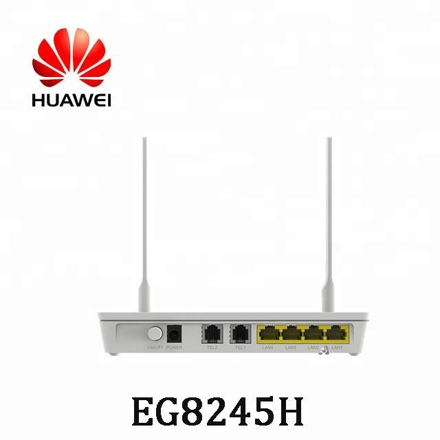 Huawei EG8245H 2POTS 4GE GPON ONT FTTH Huawei ONT EG8245H 2.4G WIFI Modem