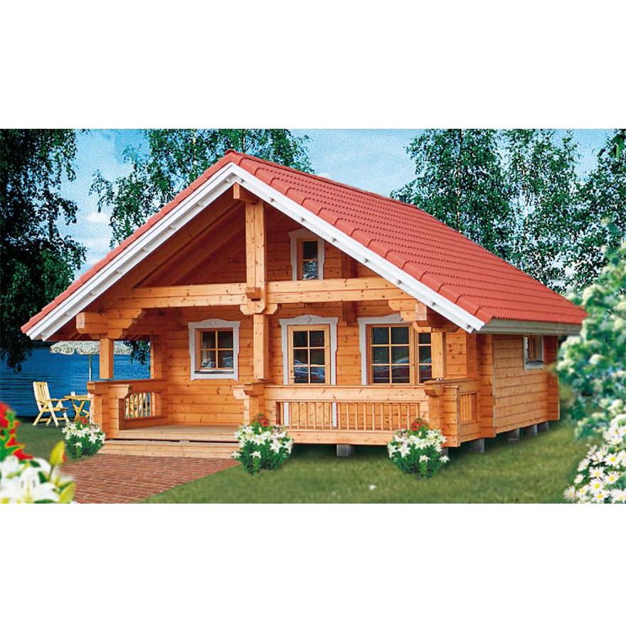 log houses prefab wooden house villa cheap prefab home log cabin tiny house
