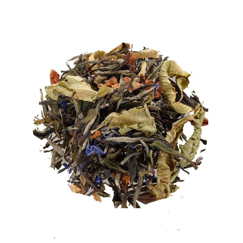 Most Popular White Tea Aromatic Lavender Rose Petals And Sweet Scents Of Peach tea canister tea flower - 4uTea | 4uTea.com