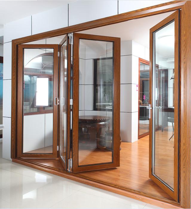 Flyscreens For French Doors: Australian Standard Hidden Fly Screen Double Glazed Glass