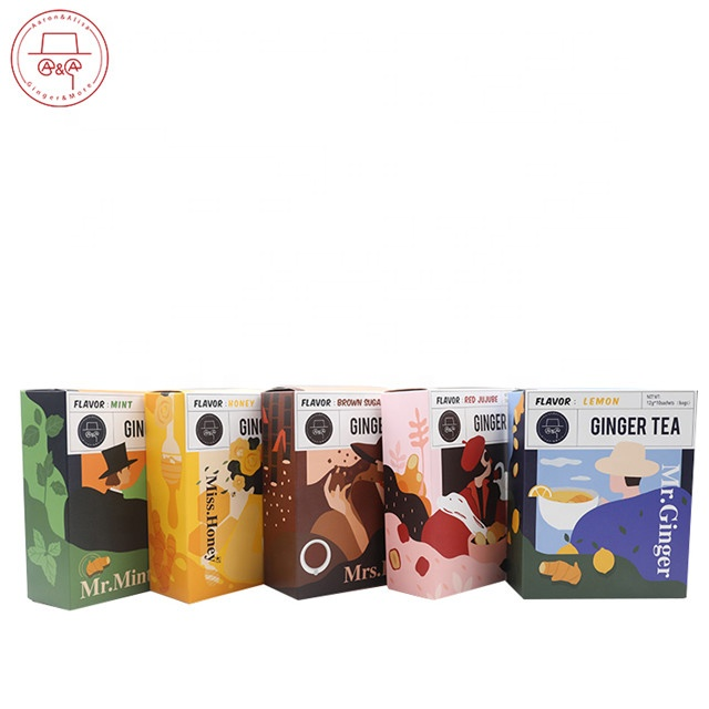 factory hot sale lemon ginger tea in Chinese factory with natural ginger - 4uTea | 4uTea.com