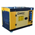 3% Off PME8000SE 6KW soundproof diesel generator silent 1 or 3 Phase