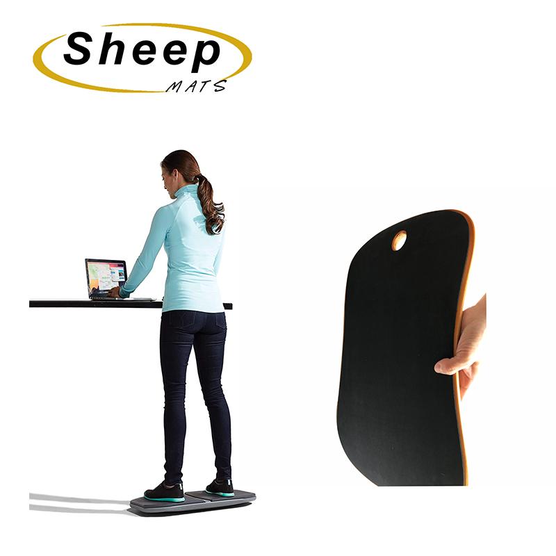 Оптовая продажа, деревянные коврики из овечьей шкуры, китайские коврики для стола, деревянные коврики для тренировок