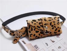 Новая женская поясная сумка с леопардовым принтом, поясная сумка, модная женская поясная сумка, осенняя Дамская поясная сумка, сумка-бум, по...(Китай)