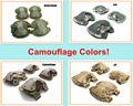4 in 1 Camouflage Anti Impact Military Tactical Knee Pads of X type Knee Protector Support