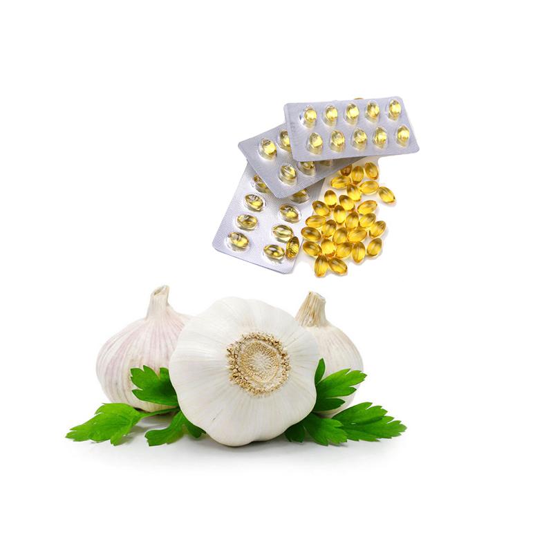 Vegetable Health Care Supplement Garlic Oil Softgel Capsule