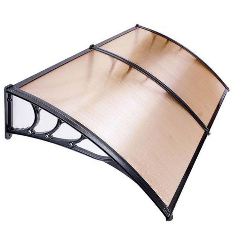 Custom diy door canopy awnings polycarbonate lexan awning factory price
