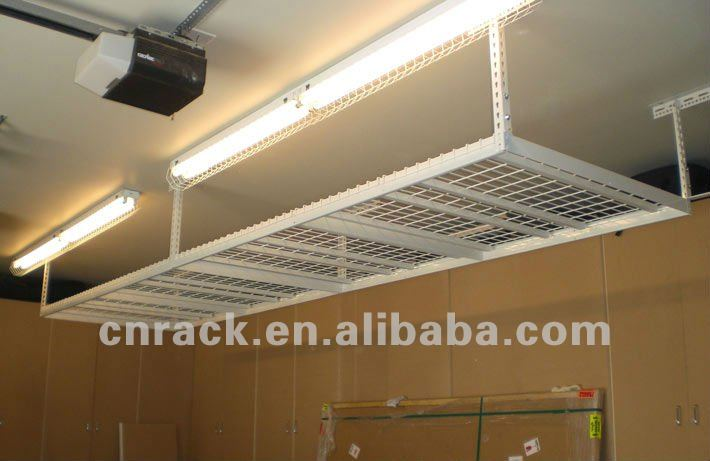 garage de rangement plafond rack cintres id du produit 669512975. Black Bedroom Furniture Sets. Home Design Ideas