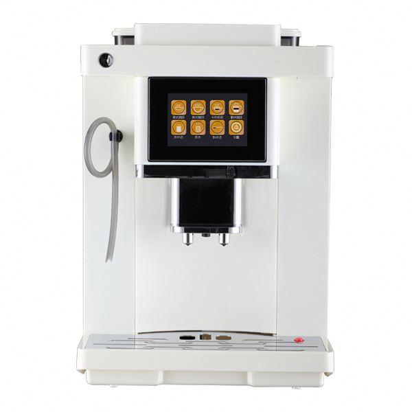 TFT цветной дисплей белый и черный цвет кофе машина коммерческий эспрессо