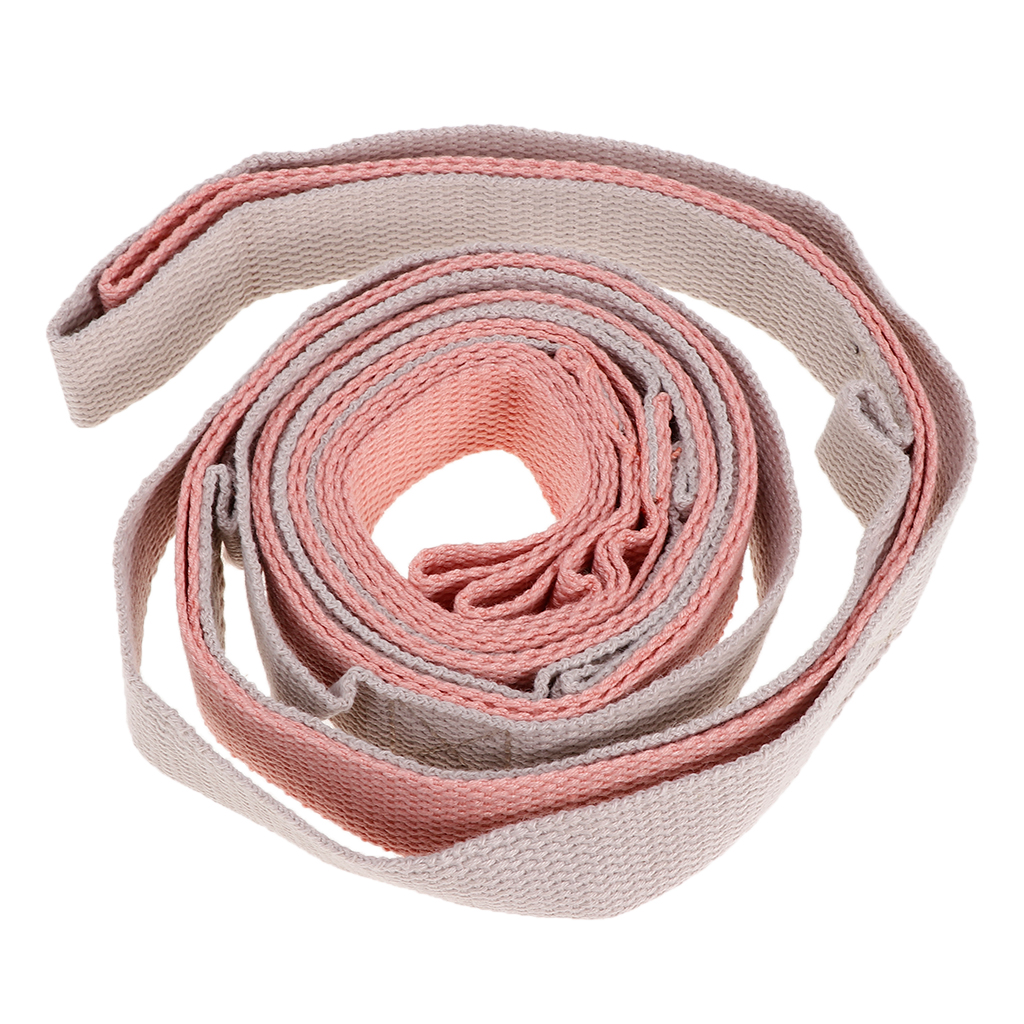 2019 78 Ft Durable Yoga Stretch Strap Stretcher Bands Fitness