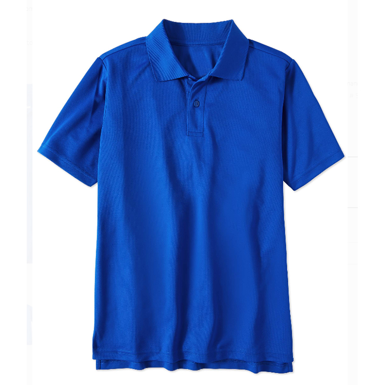 Custom School Uniform Unisex Cotton Short Sleeve Summer Performance Polo Shirt For Kids