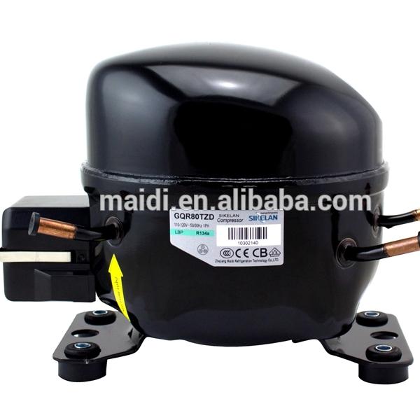 ice maker parts compressor MK-GQR80TZD R134a compressor MBP 520W