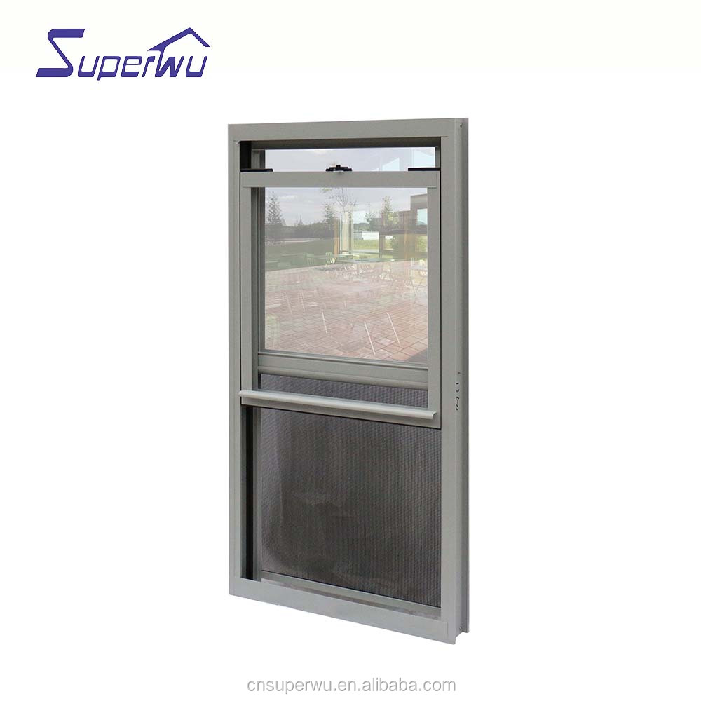 Customized sliding windows door system Double glass hurricane impact aluminium sliding window