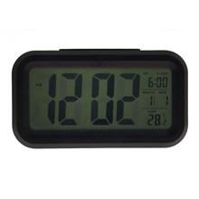 Digital Snooze Electronic Alarm Clock with LED Backlight Light Control PTSP