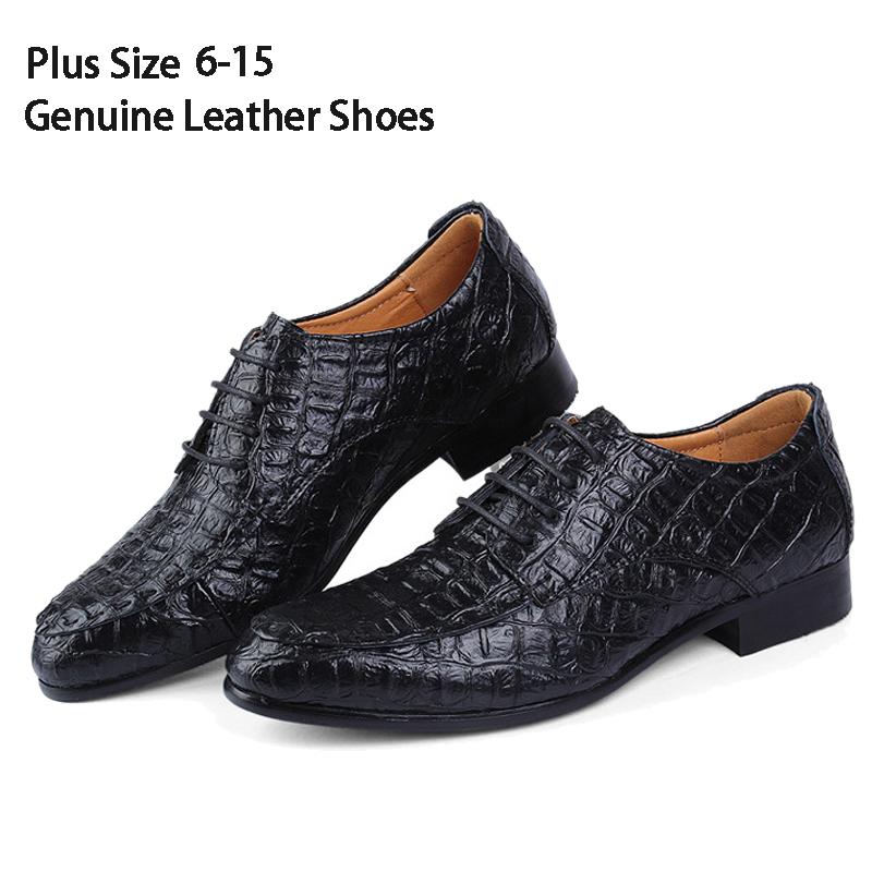 Alligator Dress Shoes For Men 86