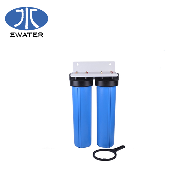 Double Oring PP UDF CTO 2.5*10 inch filter housing for cartridge water filter