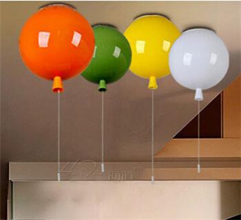 acheter moderne multicolore enfant chambre ballon plafonnier acrylique ballon. Black Bedroom Furniture Sets. Home Design Ideas