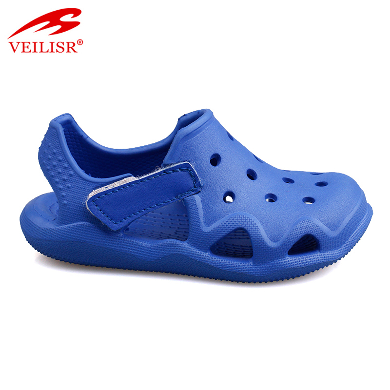 Самая популярная новая модель детских садовых Сабо, детские пляжные сандалии EVA