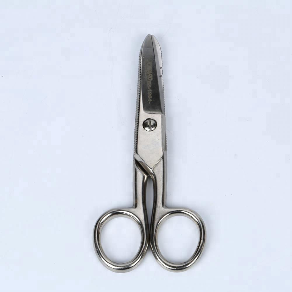 for Heavy Duty Use Stainless Steel Electrician Scissors Ergonomic
