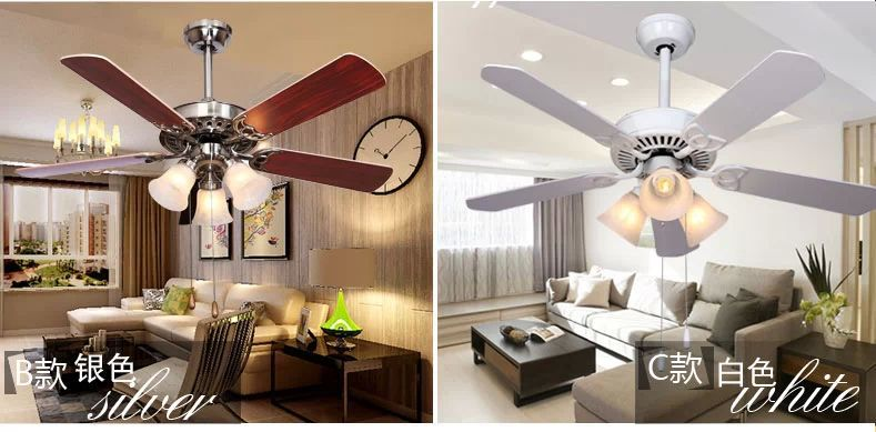 Ceiling Fans For Dining Area: Dining Room Living Room Living Room Fan Lights Fan 44inch