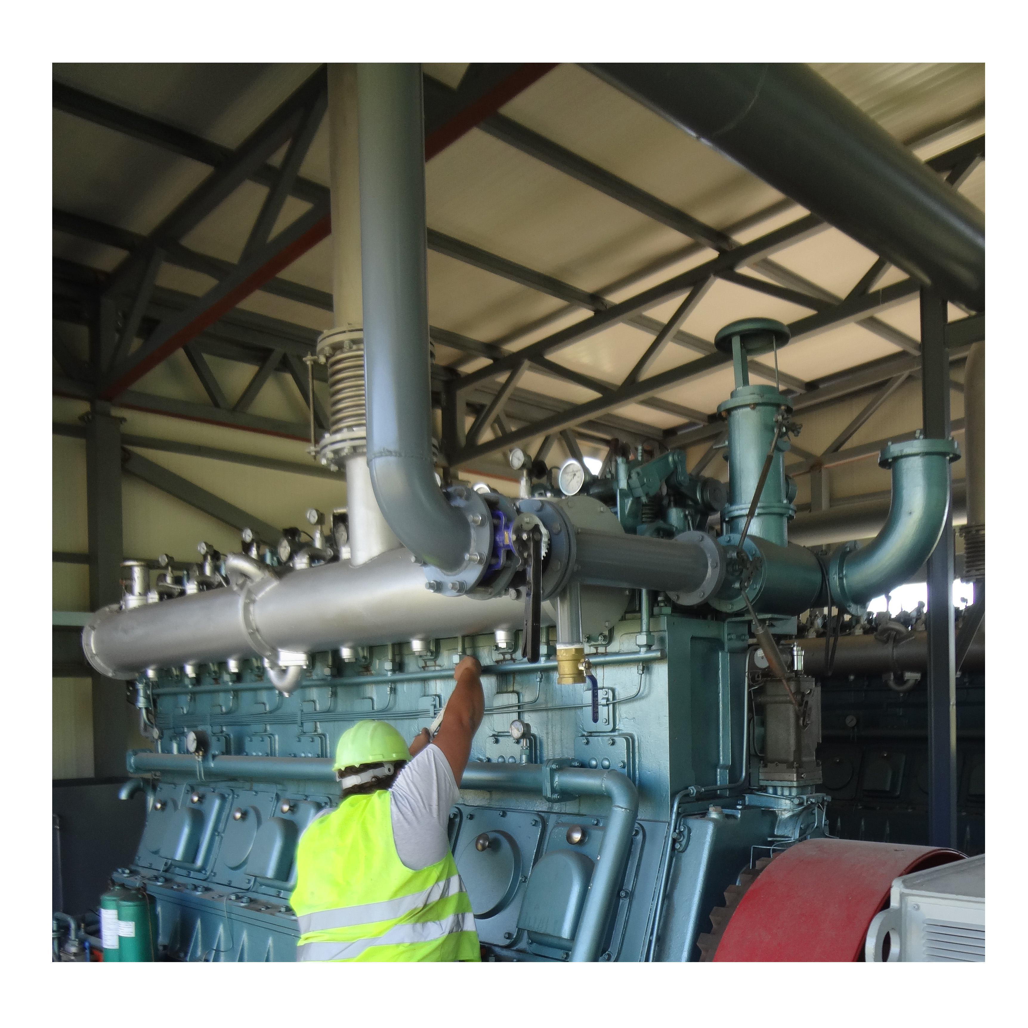 Palm shell And Palm Waste Biomass Gasifier