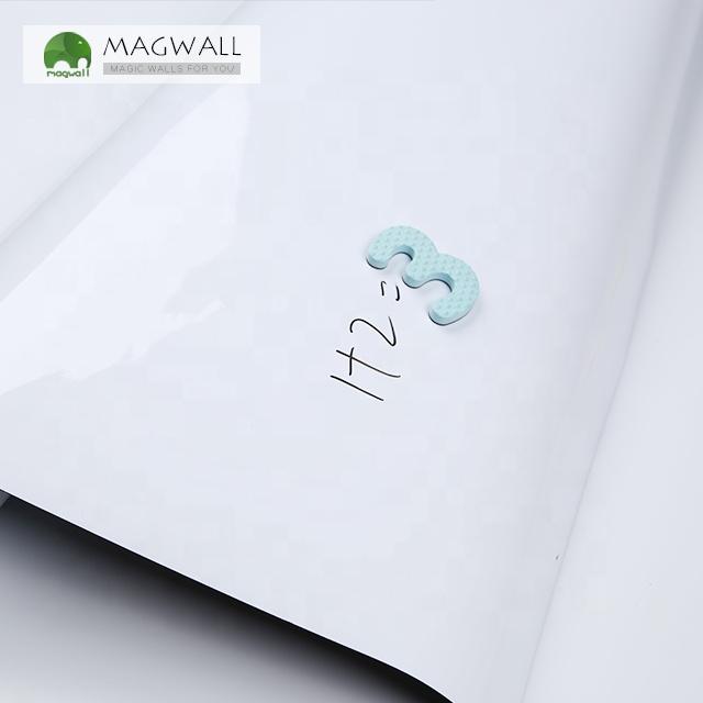 Magwall high quality customize magnetic whiteboard roll decorative wall sticker soft PET film writing white board sheet - Yola WhiteBoard | szyola.net