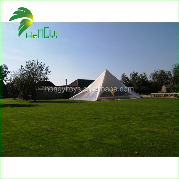 Roof top shelter/high peak 5mx5m oxford cloth material cheap star tent