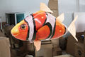 Super fun toy RC air fish toys drone Shark Clown fish balloons Nemo inflatable with helium