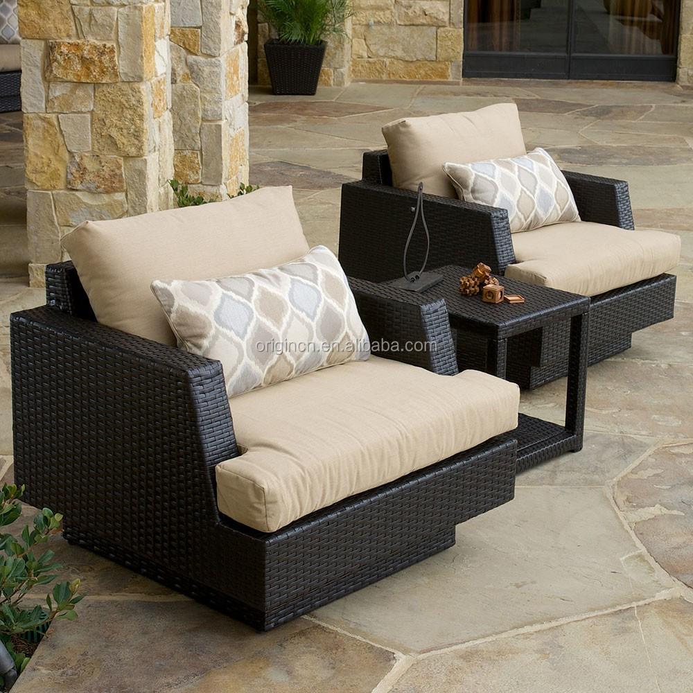 Вилла, бассейн, набор для вечеринок, диван из ротанга, обеденные стулья, шезлонг, уличная мебель для патио