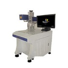 Green 532nm Laser marking machine for plastic/glass surface/food/Jade