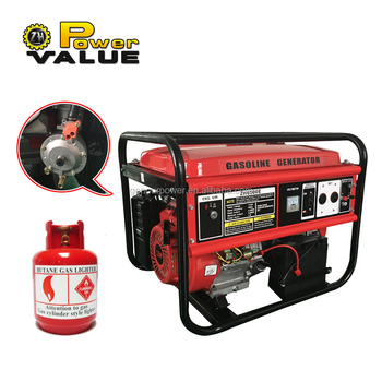 1kw to 6kw portable generator to natural gas, natural gas power generator 6 kw for sale