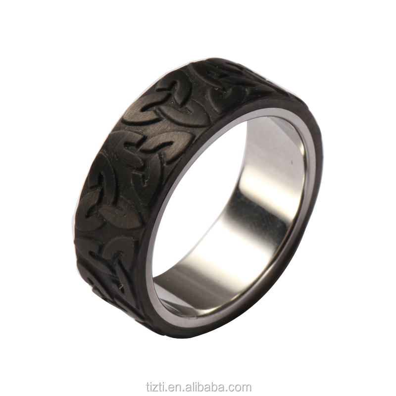 Manufacturing 6-8mm Wide Stainless Steel Carbon Fiber Ring Glow In The Dark  Cf010 - Buy Stainless Steel Ring,Carbon Fiber Ring,Glow In The Dark Ring  Product on Alibaba.com