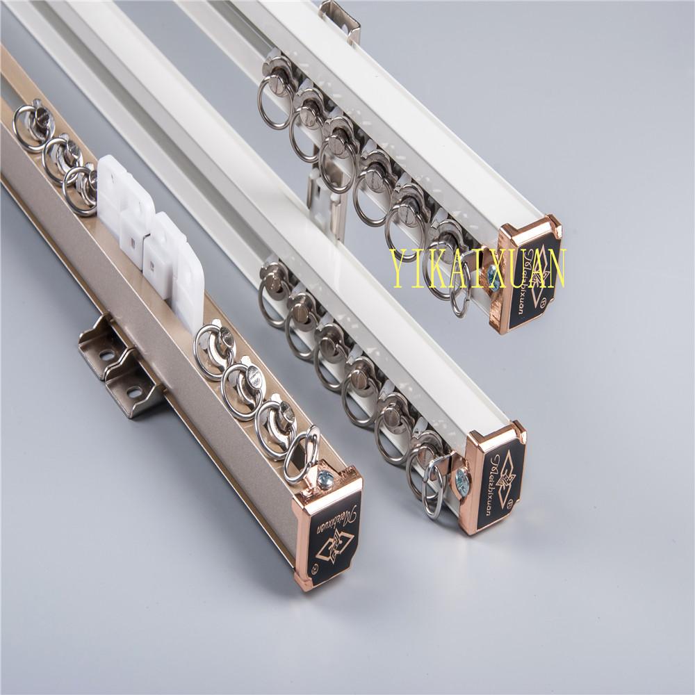 aluminum curtain rail for window decoration