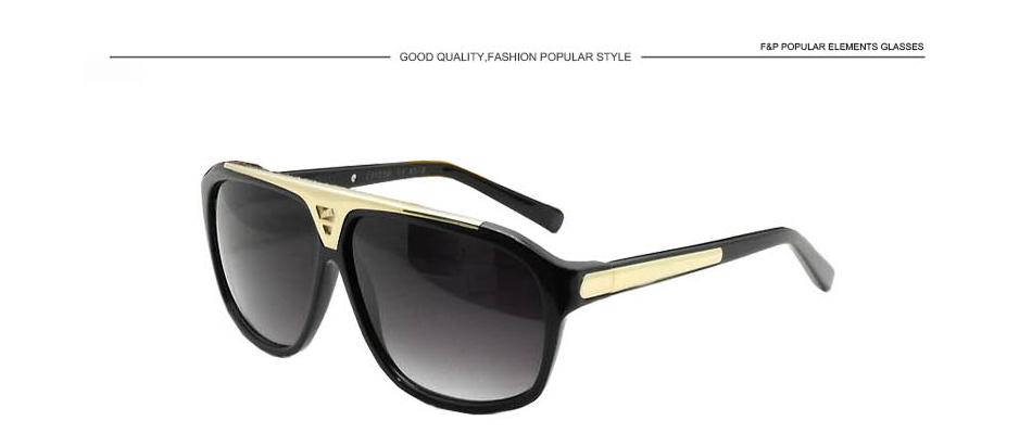 e738b11c885b Wholesale Retro Fashion Millionaire Mens Sunglasses Brand Designer ...