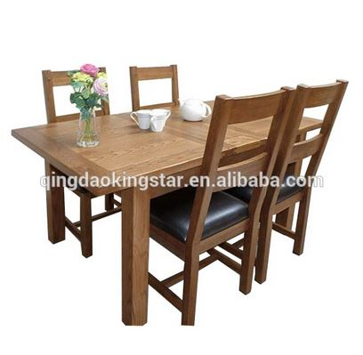 Modern Oak Heavy Duty Dining Table And Chairs Buy Heavy