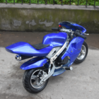 Super Moto 50cc 48cm Blue Mini Moto pocket Bike