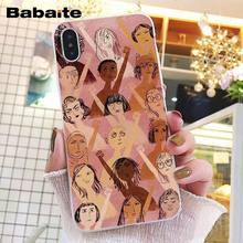 Babaite эстетика Минимальная девушка мощность Feminist телефон чехол для iphone 11 Pro 11Pro Max 8 7 6 6S Plus X XS MAX 5 5S SE XR(Китай)