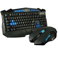 Waterproof USB 2.4G wireless multimedia keyboard and mouse set mouse and keyboard Desktop office cafe game lol