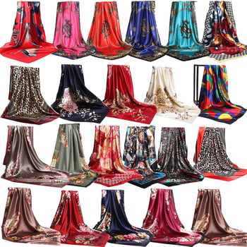 Rm129 The Ladies Fashion Scarf Silk Bandana 100% Silk Scarf Dubai.