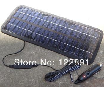 puissant nouvelle 12 v panneau solaire batterie chargeur. Black Bedroom Furniture Sets. Home Design Ideas