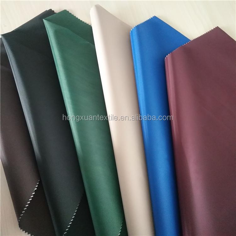170t,180t,190t,210t waterproof polyester taffeta silver coated fabric