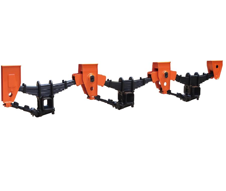 Semi Trailer Parts Use and Trailer Axle Parts Truck Trailer Suspension