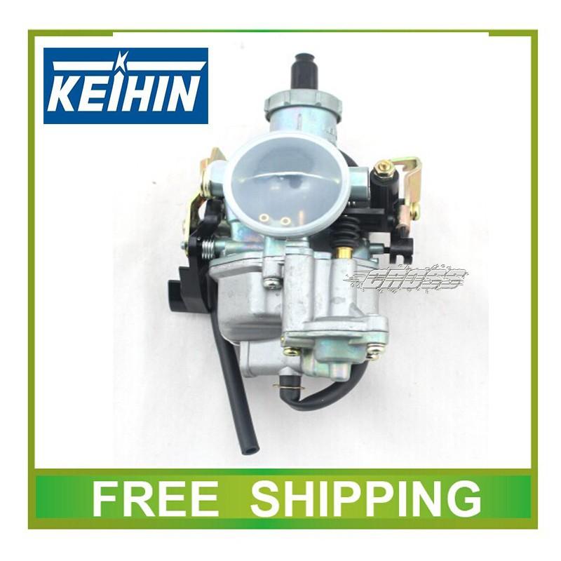 Wholesale-KEIHIN 30mm carburetor with accelerating pump accelerator 250cc  200cc motorcycle dirt bike racing performance carburetor