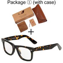 Ацетатная рамка винтажные Ретро лучи прозрачный объектив рамки обычные очки для мужчин и женщин оптическая рамка для очков Oculos Femininos(Китай)