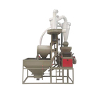 ZX-50A full-air transfer Corn/Maize flour mill machine single self-contained wheat flour milling unit with elevator auto-feeding