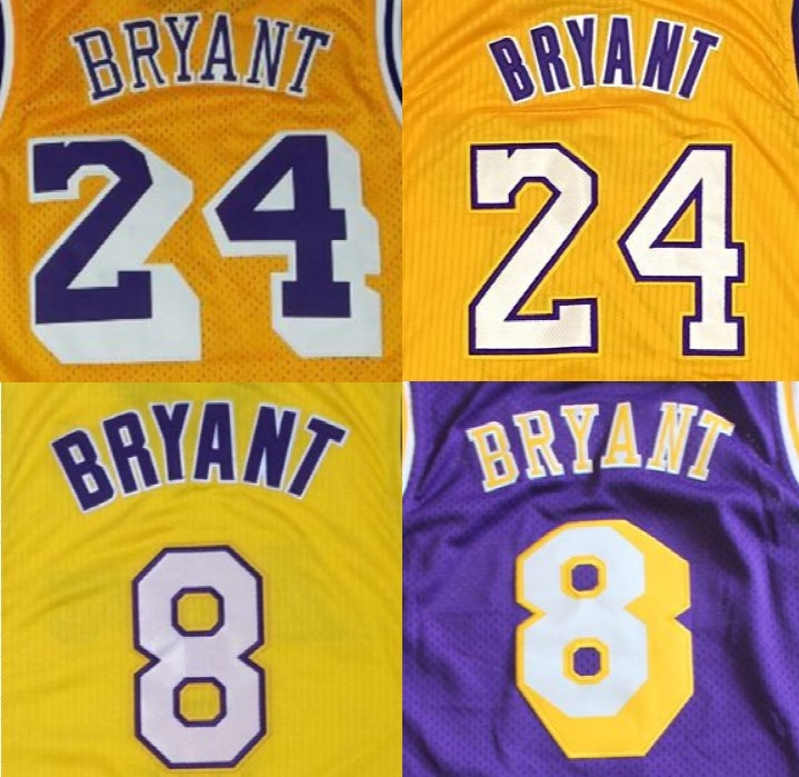 Customized Kobe Bryant Best Quality Stitched Jerseys - Buy Kobe ...
