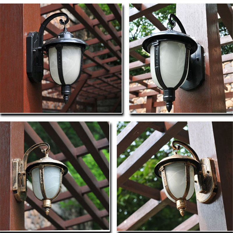 a828f2330640 Vintage Indoor Wall Lights Kitchen Island Bar Antique Glass Wall Sconce  Wrought Iron Industrial Lighting Black Modern Wall Lamp