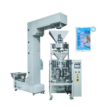 Automatic Volumetric Cup Measuring Commercial Ice Cube Packing Machine
