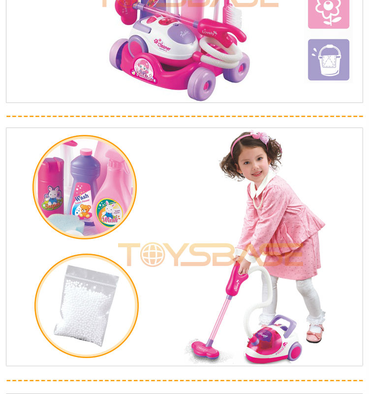 Magical Play Set Educational Toy Vacuum Cleaner Wholesale